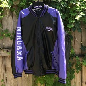 VINTAGE Vinyl Niagara Eagles Varsity Jacket